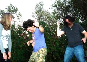 Black Rabbit photo shoot Burlington VT punk rock