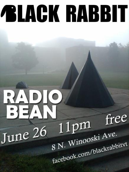 Black Rabbit flyer Radio Bean 6.26.11