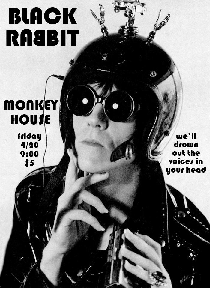 Black Rabbit live at The Monkey House, Winooski VT, April 20, 2012