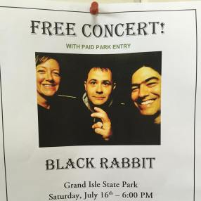 Black Rabbit @ Grand Isle State Park 7.16.16