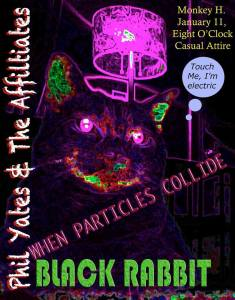 Black Rabbit When Particles Collide and Phil Yates & the Affiliates at The Monkey House 1.11.14 Winooski VT