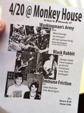 Monkey House 4.20.12