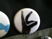 Black Rabbit button Burlington VT punk rock