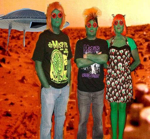 Black Rabbit Teenagers From Mars
