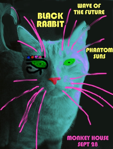 black rabbit wave of the future phantom suns 9.28.13 monkey house winooski vt