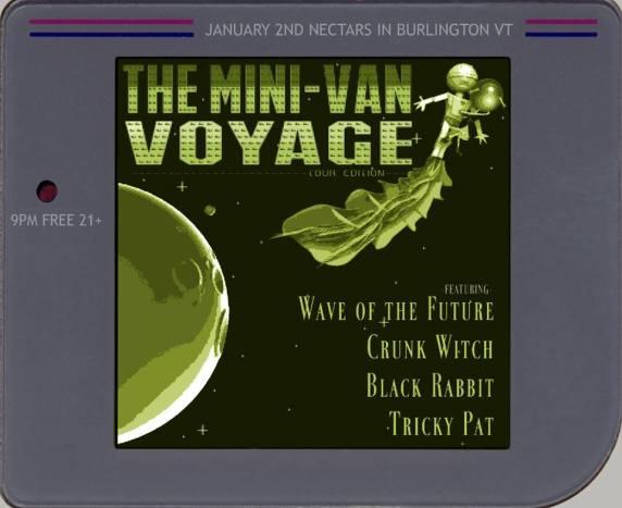 Nectar's January 2 2014 Black Rabbit Crunk Witch Wave of the Future Burlington VT