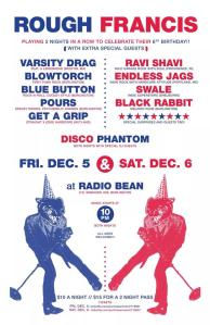 Rough Francis 6th Birthday Bash 12/6/14 Radio Bean