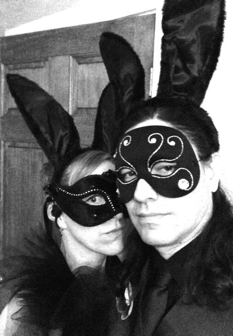Black Rabbit Masquerade Halloween 2014 Charlie O's
