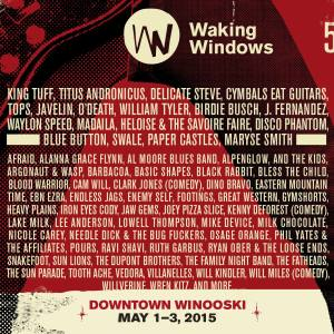 Black Rabbit is playing the Waking Windows music fest in Winooski, VT, Saturday May 2 2015