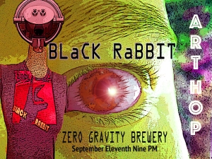 Black Rabbit at the Art Hop 9.11.15