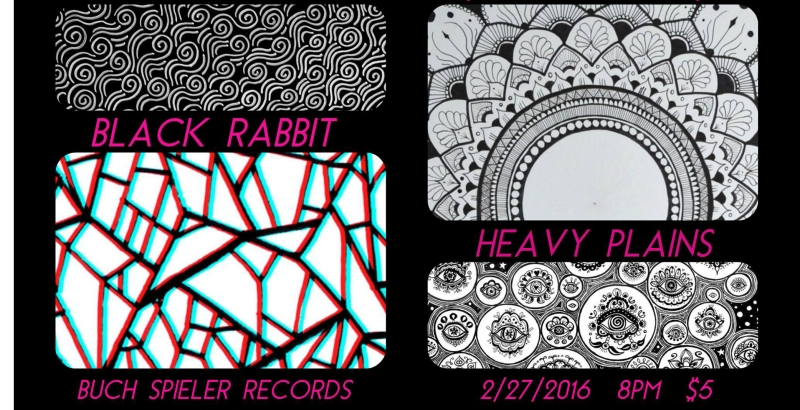 Black Rabbit live at Buch Spieler Records Feb 27 2016 Montpelier VT