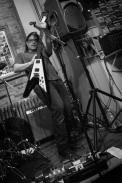Black Rabbit @ Buch Spieler Records 2.27.16 Marc Scarano Flying V