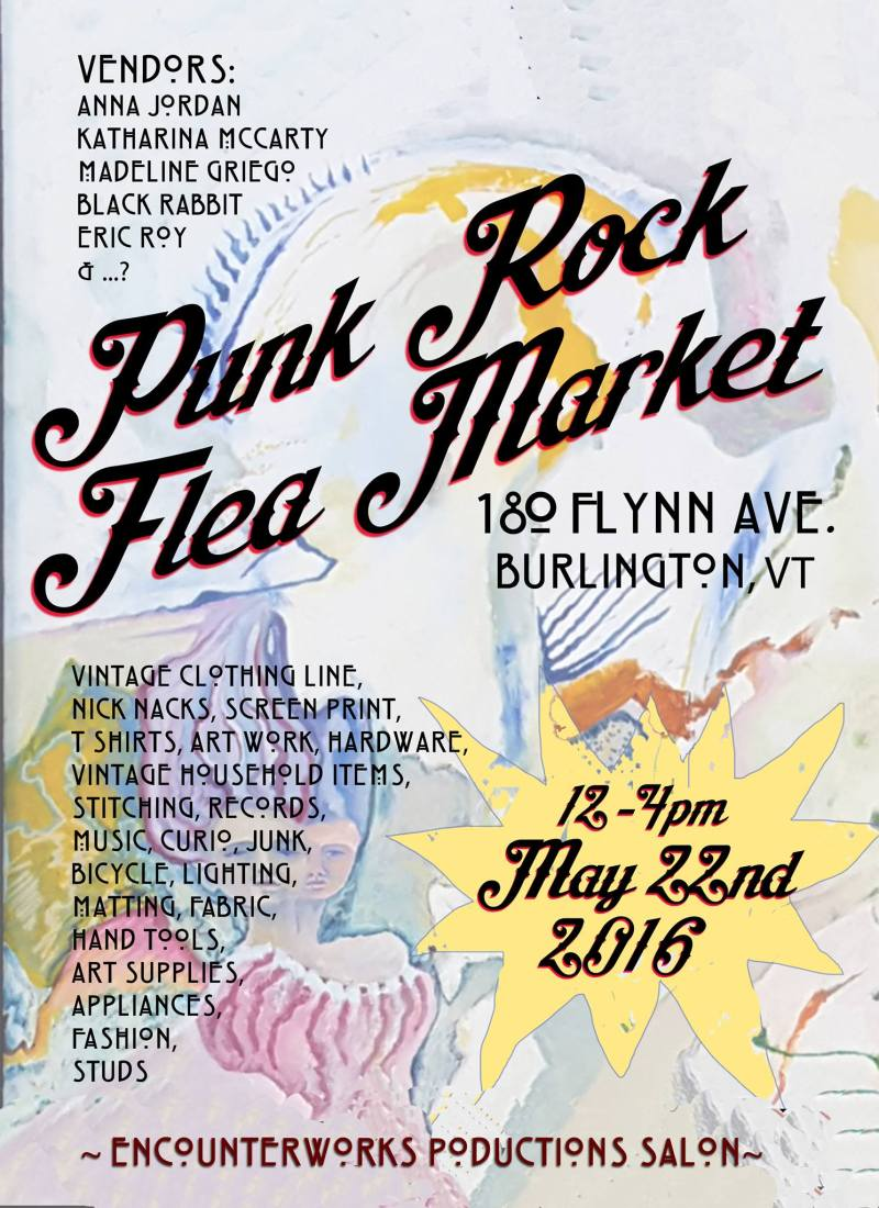 Punk Rock Flea Market 5.22.16