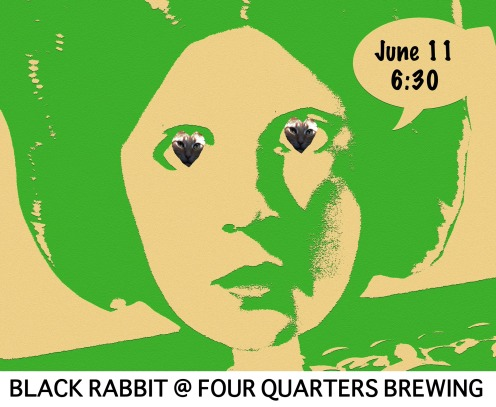 Black Rabbit @ Four Quarters Brewing 6.11.16 Winooski VT