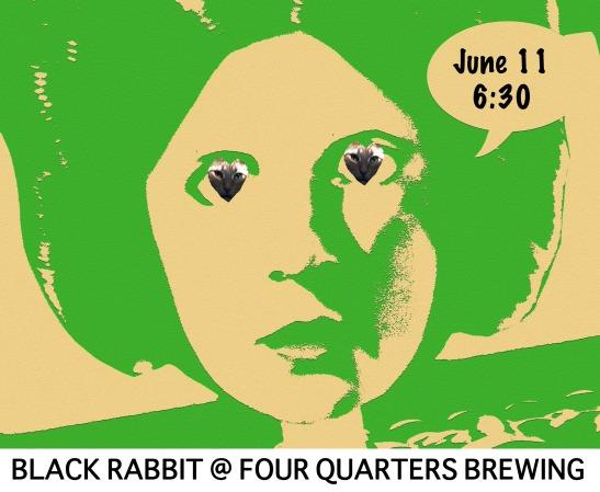 Black Rabbit @ Four Quarters Brewing 6.11.16 Winooski VT