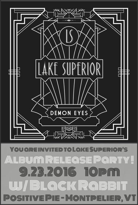 Black Rabbit @ Positive Pie 9.23.16 Lake Superior record release show