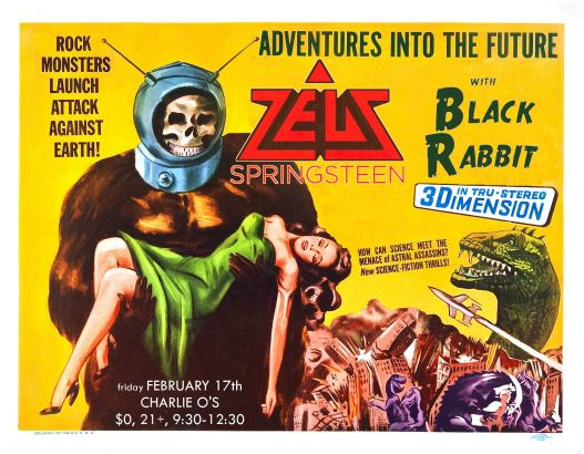 Zeus Springsteen + Black Rabbit @ Charlie O's World Famous 2.17.17
