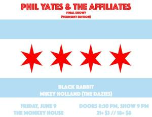 Phil Yates farewell show 5.7.17 Monkey House