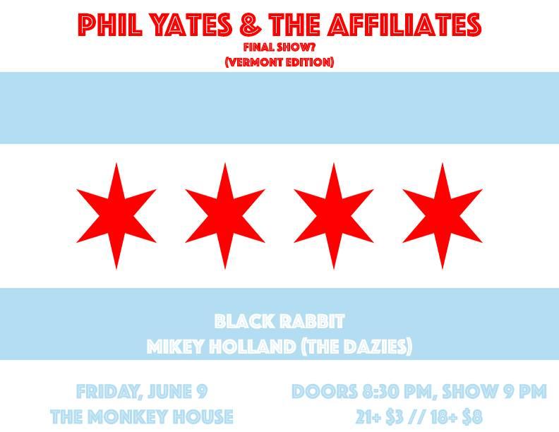 Phil Yates farewell show 5.7.17 Monkey House