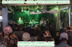 Black Rabbit at The Monkey House 10.7.17 photo by Britt Shorter