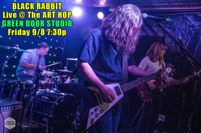 Black Rabbit - Art Hop 9.8.17 photo by Britt Shorter