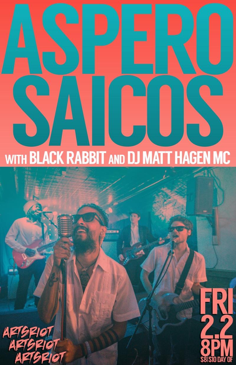 ASPERO SAICOS Black Rabbit Matt Hagen2.2.18